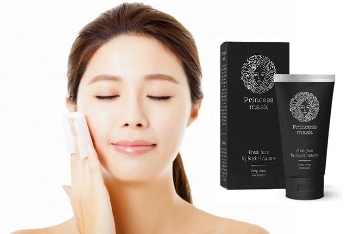 Princess Mask titik-titik hitam: produk profesional untuk pembersihan muka dari dalam!