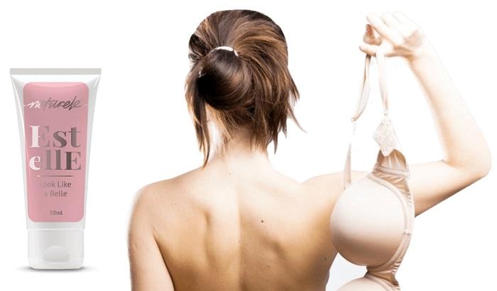 Estelle untuk pembesaran payudara: hasil ketara dapat dirasai hanya dalam seminggu!