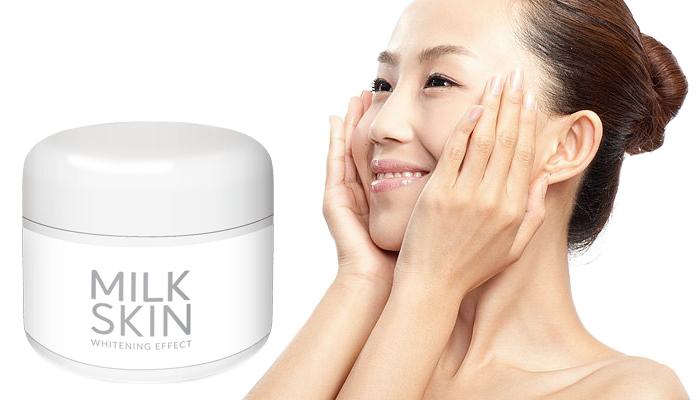 Milk Skin: bintik-bintik pigmen  hilang dalam kursus 1 pengunaan