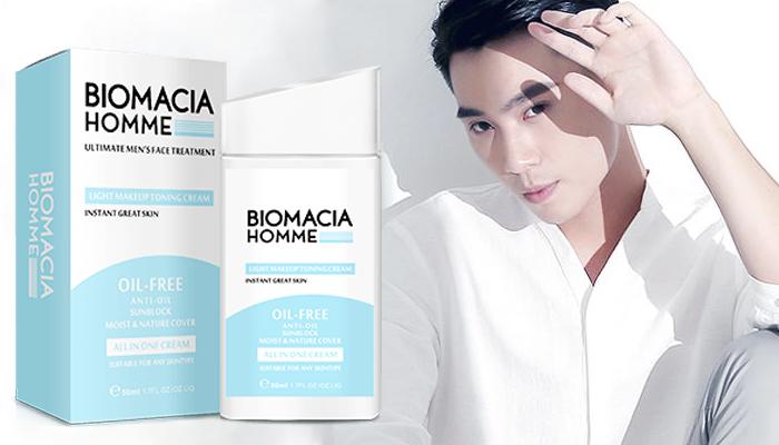 Biomacia Homme: masking krim losyen pemutihan kulit