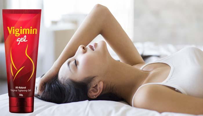 Vigimin Gel: bagi orgasm untuk wanita pada regular