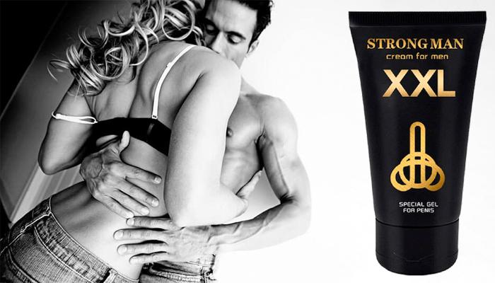 Strong Man XXL: krim untuk meningkatkan potensi seksual