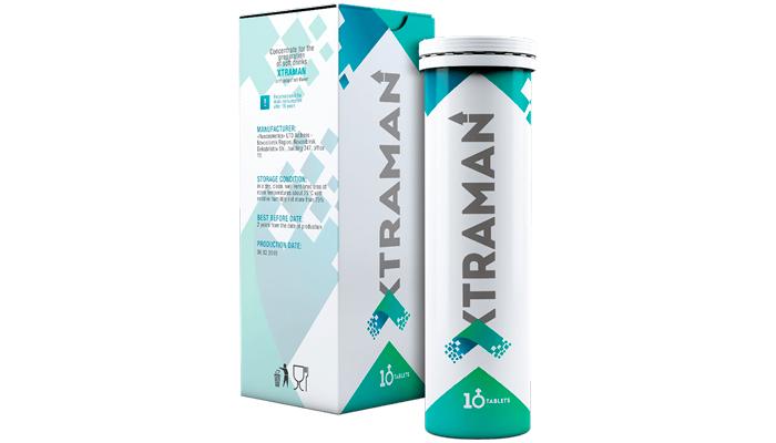 Xtraman: bioadditive untuk pembesaran zakar