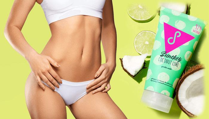 Sunckey untuk kebersihan intim: basuh halus