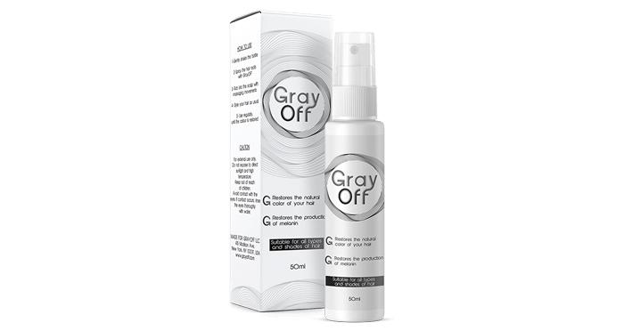 GrayOFF terhadap uban: ia mengembalikan warna asal rambut anda berbanding pewarna rambut