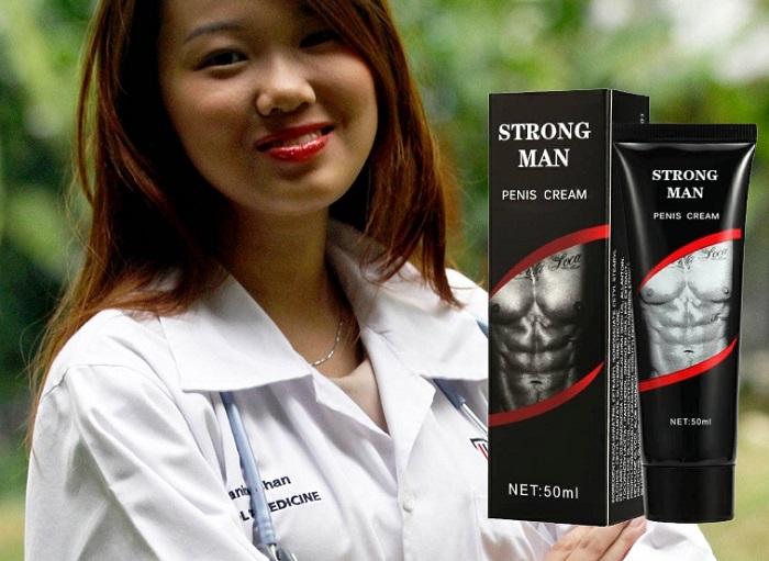 Strong Man untuk pembesaran penis: ISTERI ANDA AKAN GEMBIRA!