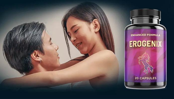 Erogenix: kapsul semula jadi untuk peningkatan potensi