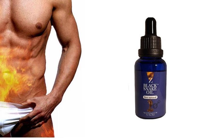 Black Snake Oil untuk zakar pembesaran: merasa seperti pria sejati!