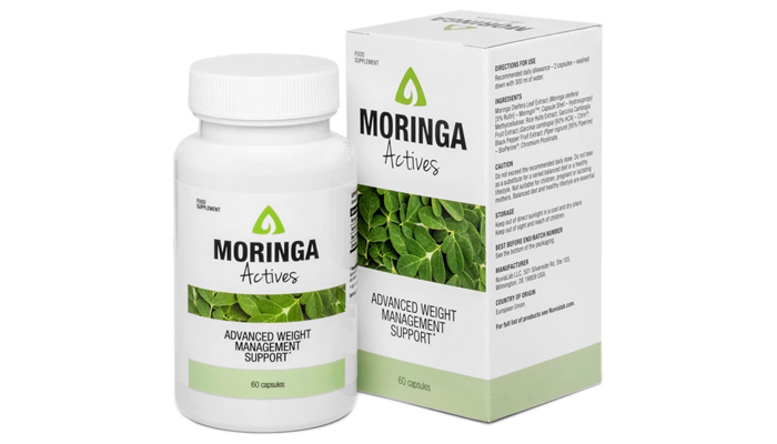 Moringa Actives for weight loss: the perfect food supplement to support your weight loss efforts!